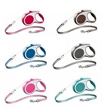 FLEXI VARIO Cord LONG Retractable Dog Leash S M Size 8m 26ft All Colors