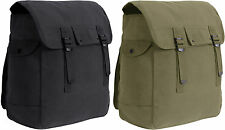 Jumbo Heavyweight Canvas Military Musette Bag