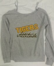 LSU Tigers ATTITUDE NCAA Soffe Lightweight  Sweatshirt - Gray - Girls Sizes S-XL