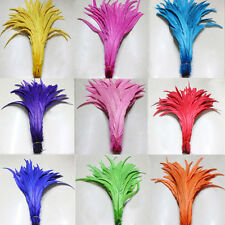 Wholesale 10-100PCS beautiful pheasant Natural tail feathers 30-35cm/12-14inchs