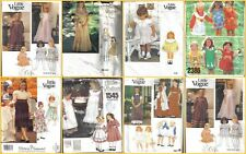 OOP Vogue Sewing Pattern Girls Dress Special Occasion Party You Pick
