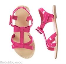 NWT GYMBOREE Pretty Poppy Pink Bow Sandals shoes  5 8 9 10 11 12 13 1 2 3