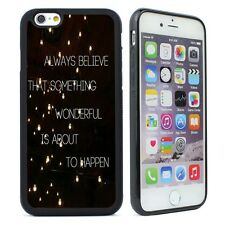 Good Quotes Silicone Case Cover For iPhone  4s 5 5s SE 5C 6 6S Plus Phone Case