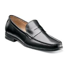 Nunn Bush mens shoes Westby Penny Moc toe slip-on loafer Black Leather 84515 001