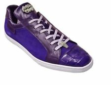 BELVEDERE MENS shoes Toro Purple  Genuine Corcodile Calf fashion Sneakers 33002