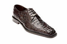 Belvedere Mens Shoes Chapo Hornback Lace Up Classic brown 1465 Dressy Lace Up