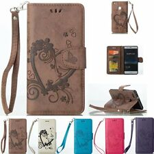 Luxury Flip Cover Stand Wallet Leather Card Case For Huawei Ascend P8 Lite P9