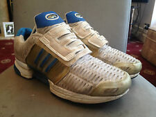mens adidas climacool trainers in white size 9 good condition