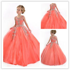 Flower Girl Dresses for Birthday Wedding Christmas Prom Pageant Party Communion
