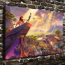 Disney Painting HD Art Print The Lion King on Canvas Modern Home Deco (Unframed)