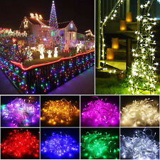 Waterproof 10M 100 LED Fairy String Lights Christmas Xmas Party Garden Outdoor