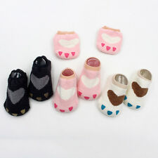 Soft Lovely Baby Toddlers Infants Boys Girls Cute Paw Anti-slip Walking Socks