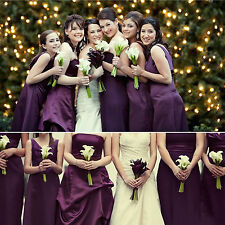 10 Heads Artificial Calla Lily Flowers Real Touch Wedding Bridal Bouquet