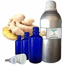 GINGER OIL 100% Pure Natural Essential Oil, Therapeutic Grade 5 ml to 250 ml