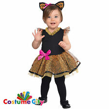 Childs Babys Toddlers Cutie Cat Animal Fancy Dress Costume Halloween Party