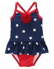 NWT Gymboree Swimsuit Star Spangled Summer 6 12 18 24 mo 2T 3T 5T July 4th