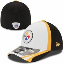 NFL New Era® 39Thirty™ Pittsburgh Steelers Blk/Wht Training Stretch Fit Hat Sz