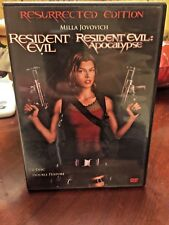 Resident Evil /Resident Evil: Apocalypse Box Set(DVD,2007, 2-Disc Set)Widescreen