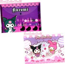Sanrio Snap Button Folder Envelope Bag A4 Paper Document File Case Wallet PVC