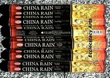 Hem China Rain Incense Sticks 20-40-60-80-100-120 Incense  U Pick Quantity
