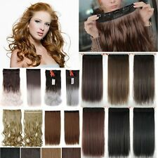 "Big Sale!! 9""/12"" Clip In on Hair Extensions As Human Real Natural Blonde H729"