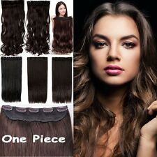 Hot Real Thick,17-30 Inch,3/4 Full Head Clip In Hair Extensions,Brown Blonde H89