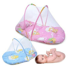 Foldable Portable Infant Baby Mosquito Net Crib Bed Tent with Pillow Dainty
