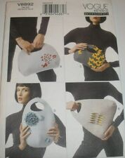 8892 Vogue Accessories sewing Pattern Hand Bags / Purses Handbag