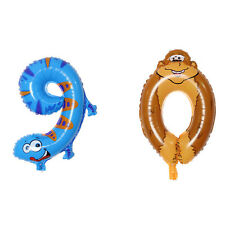 16inch Animal Number Foil Inflatable Balloon Wedding Birthday Party Decoration