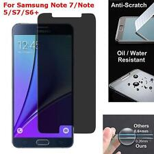 Privacy Anti-Spy 9H Tempered Glass Screen Protector For Samsung S7,S6,S6 Edge