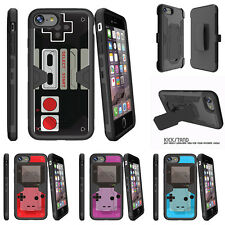 "For Apple iPhone 7 Plus (5.5"") Holster Clip Stand Case Game Controller"