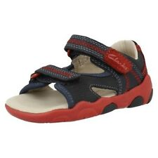 Clarks Boys First Sandals Softly Rhys With Strap Fastening