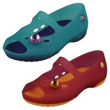 Girls Crocs Mary Jane Style Flat Sandals 'Carlie flat girls'