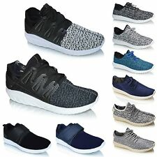 New Mens Casual Lace Up Fitness Gym Running Sports Pumps Trainers Shoes Size UK