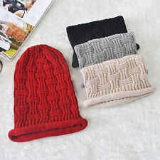 Fashion Unisex Crochet Knitted Hip Hop Street Jersey Slouch Baggy Beanie Cap Hat
