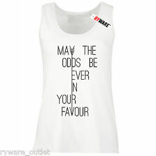 Ladies May the Odds Be Ever In Your Favour inspired by Hunger Games Vest