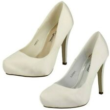 Ladies Anne Michelle Platform Wedding Shoes