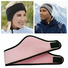 Mens Womens Ear Warmer Winter Headband Fleece Ski Sport Unisex Stretch Earmuff