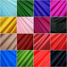 80% Nylon 20% Spandex Shiny 4Way Stretch Raw Material Fabric per Yard 76 Colors