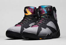 "DS 2015 Nike Air Jordan 7 Retro ""Bordeaux"" OG VII Charcoal / Black Size 11"
