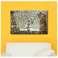 POSTER or STICKER +GIFT Decals Vinyl Tree Of Life Gray Gustav Klimt Paintings