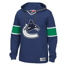 "Vancouver Canucks Reebok NHL Men's ""Jersey"" Pullover Hooded Sweatshirt"