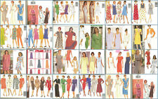 OOP Butterick Sewing Pattern Misses Dress Plus Size 18 20 22 You Pick