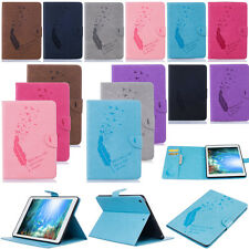 New YPBF Embossing Wallet Leather Case Cover For Apple iPad Air 2 1 Pro Mini 4 3