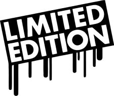 Limited Edition - Vinyl Car Window and Laptop Decal Sticker