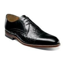 New Stacy Adams Madison II Cap Toe Lace Black Leather Oxford Shoes  00073-001