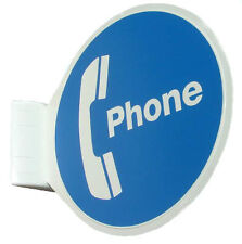 NEW Telephone Technical Services Pty Ltd Pay Phone Sign Wall Mount