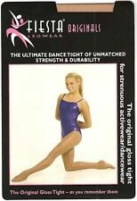 Fiesta Gloss Stirrup Tights NEW. Shiney Dance or Aerobic tights ADULTS SIZES