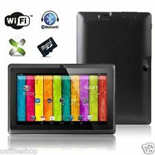 7 inch Gifts A33 Quad Core Android 4.4 4GB Dual Camera WiFi Android Tablet HOT!