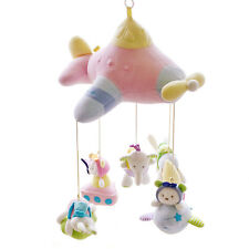SHILOH Musical Mobile Crib Stroller Doll Rotatable Plush toy Kid Children Gift